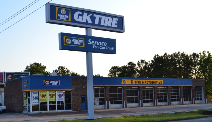 GK Tire Outside View